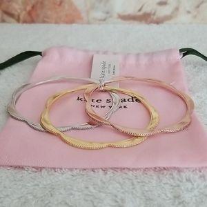 New kate spade Slender Scallop Bracelets (3)